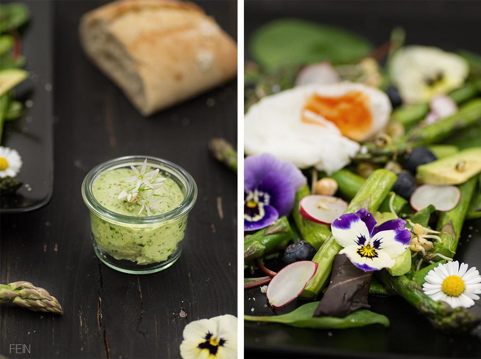 Frühlingssalat Bärlauchbutter2