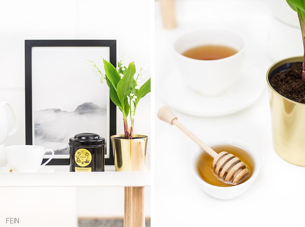 Wohnzimmer Tee