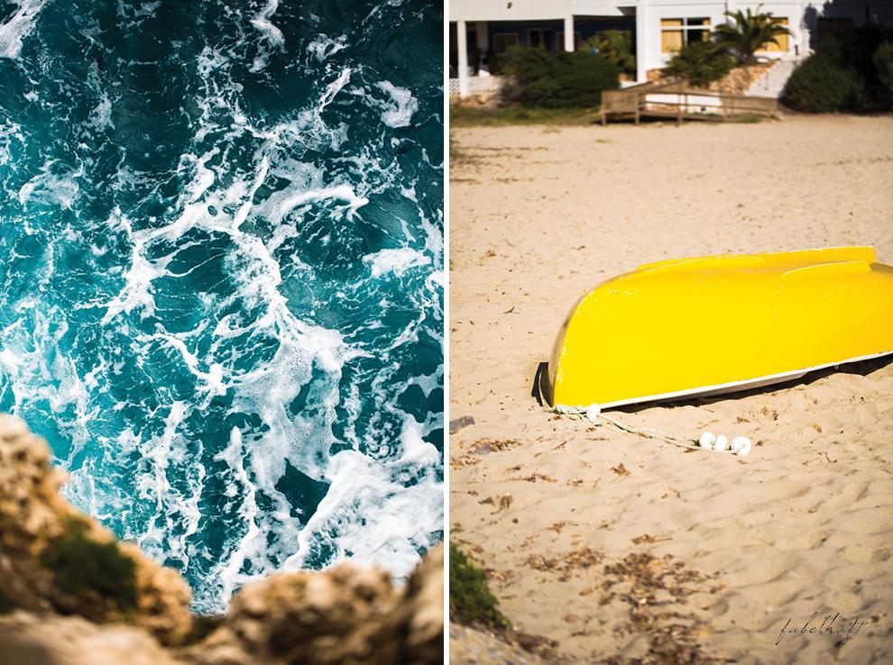 Mallorca spain travel balearen island blond beach fashion strandmode trend 2016 rosa Maxirock waves 4
