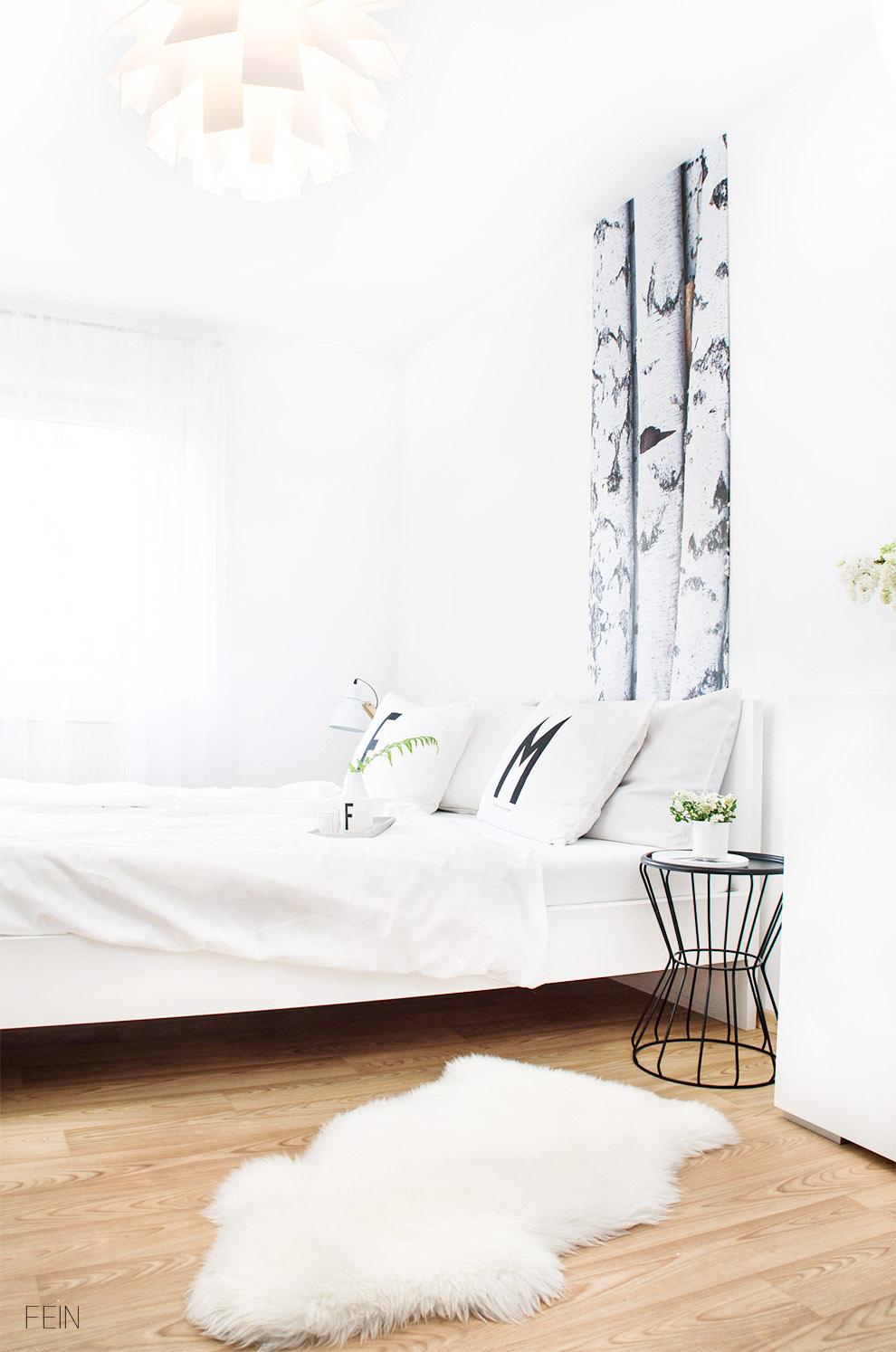 birkenwald im schlafzimmer creatisto gutschein. Black Bedroom Furniture Sets. Home Design Ideas