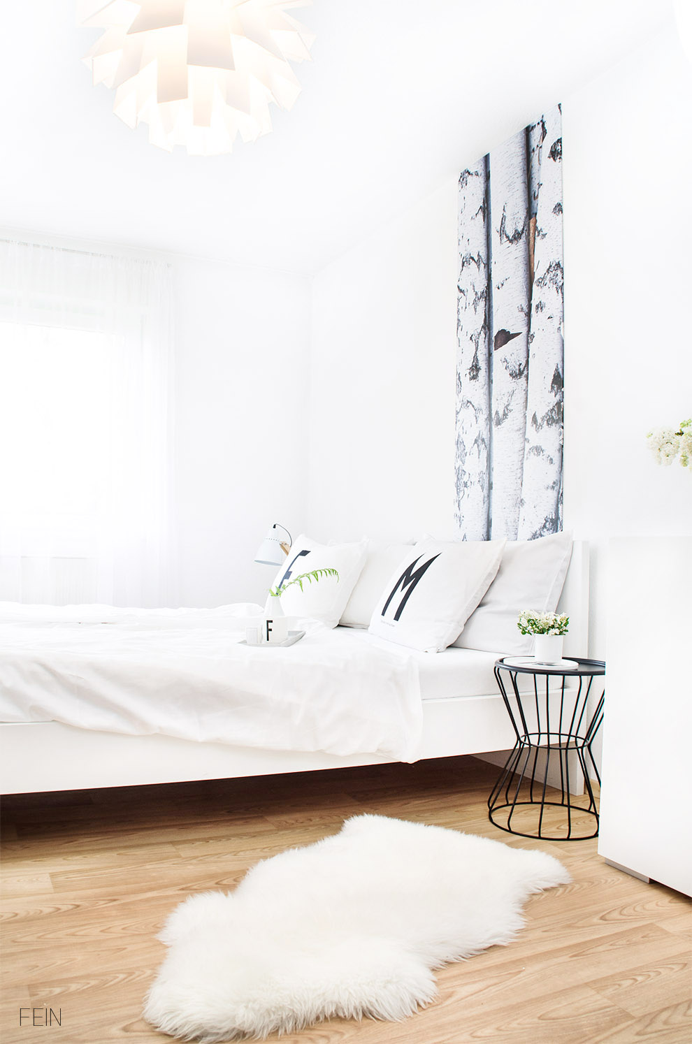 Schlafzimmer skandinavisch