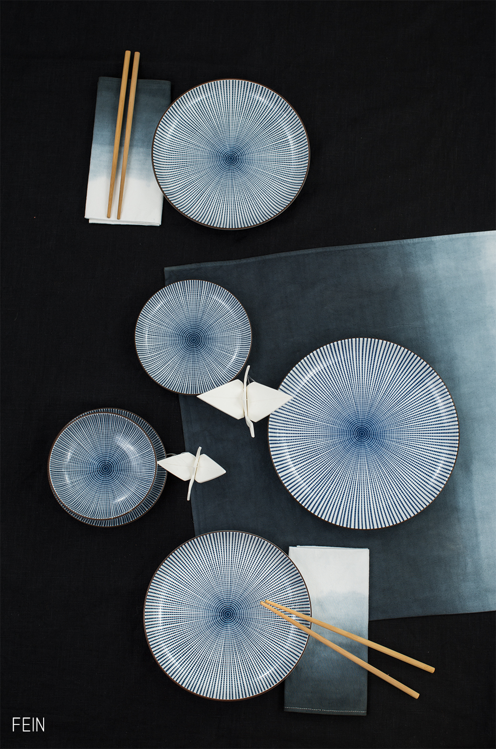 Asia Tokyo Design Studio Sendan Tokusa blau