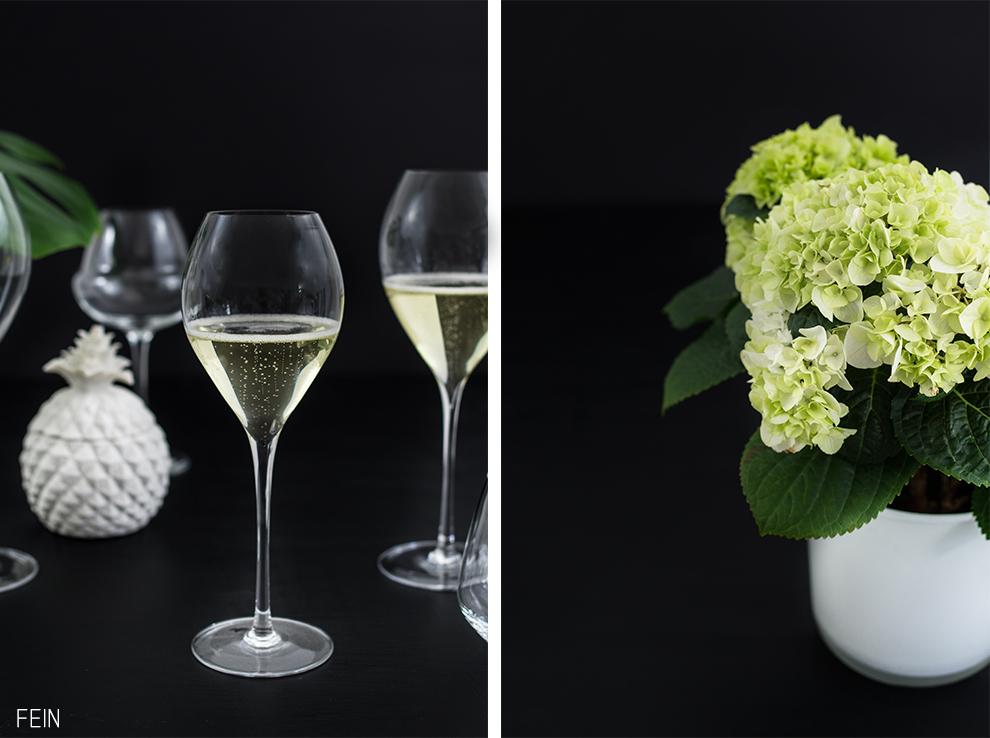 Balkon Lehmann Glass Champagner