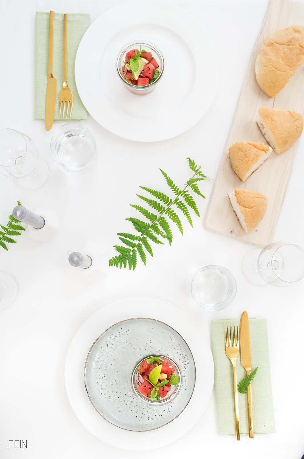 Dinner Salat Sommer