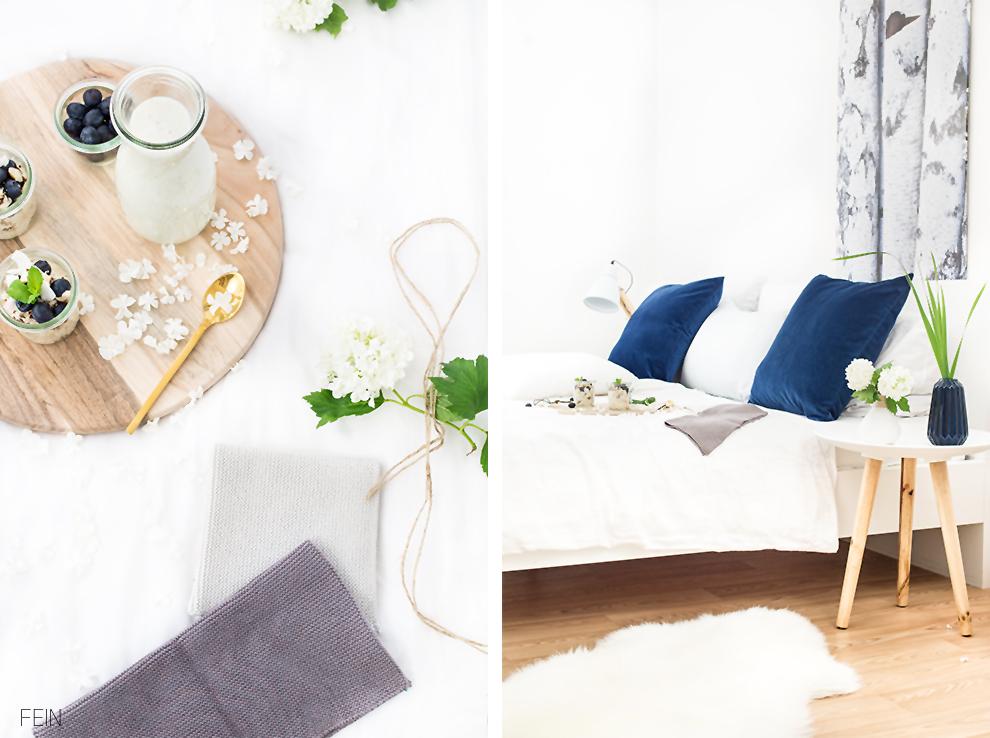 fr hst ck im bett mit feinen accessoires von push coco. Black Bedroom Furniture Sets. Home Design Ideas