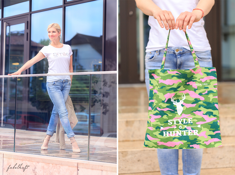 Jules Rules Design Fashion Mode Trend Sommer 2016 Shirt Happy Smile Bio Fair Schmuck Roségold Fein & fabelhaft 6