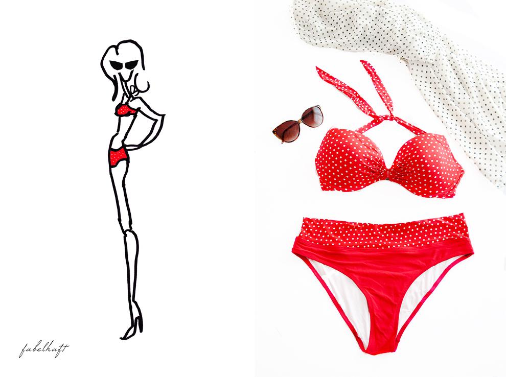 FEIN & und fabelhaft Bikini special trend sommer 2016 Fashion Badeanzug Swimwear Beach Urlaub Strand 3