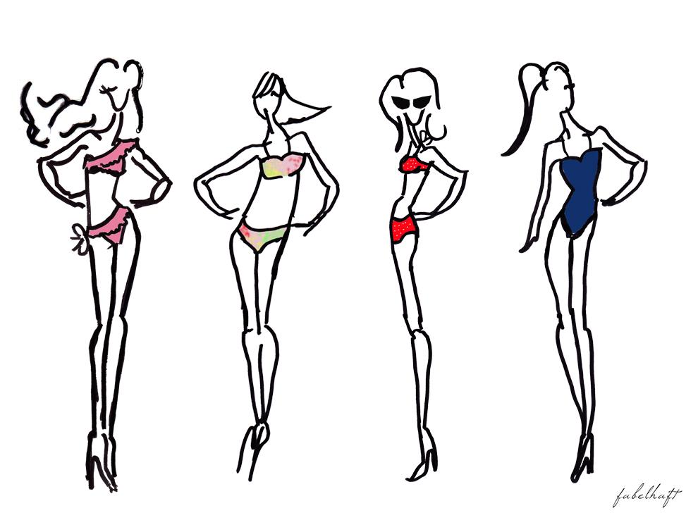 FEIN & und fabelhaft Bikini special trend sommer 2016 Fashion Badeanzug Swimwear Beach Urlaub Strand