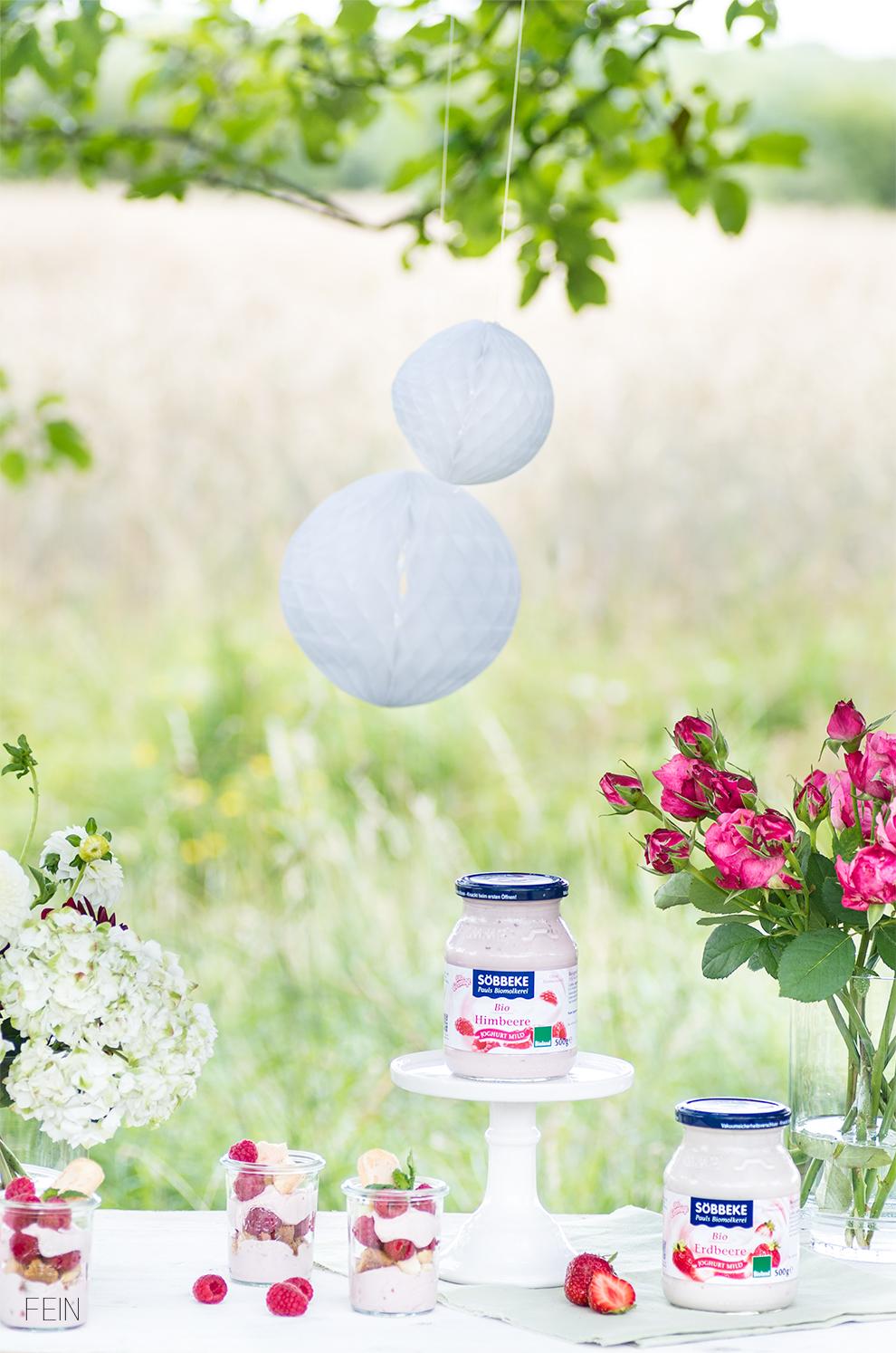 Joghurt Bio Molkerei Söbbeke Outdoor Natur