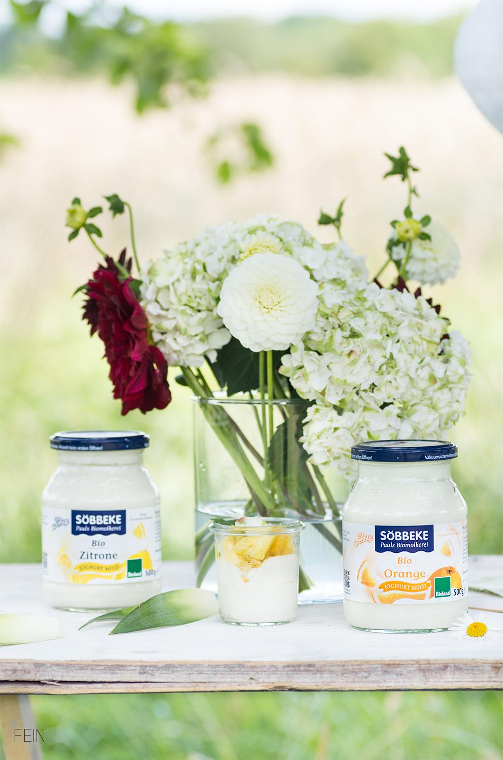 Joghurt Bio Molkerei Söbbeke Orange Der Cremige