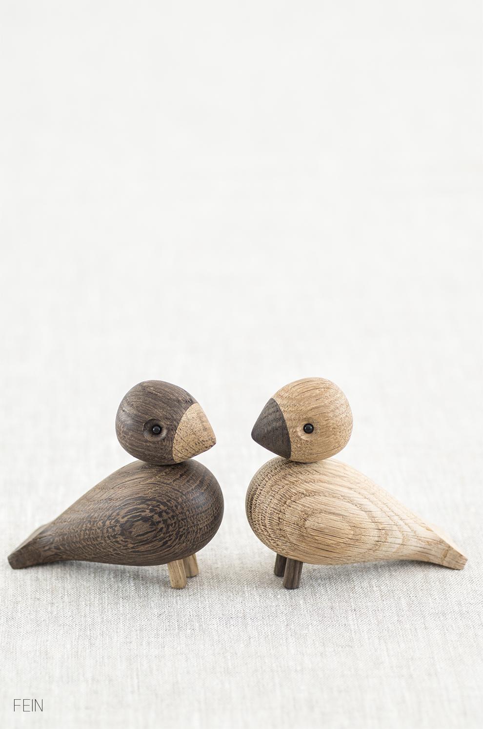Herbst Vögel Kay Bojesen Lovebirds