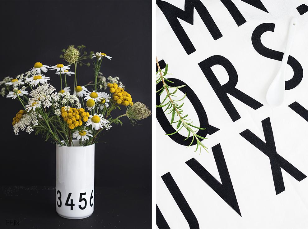 Küche Design Letters Vase