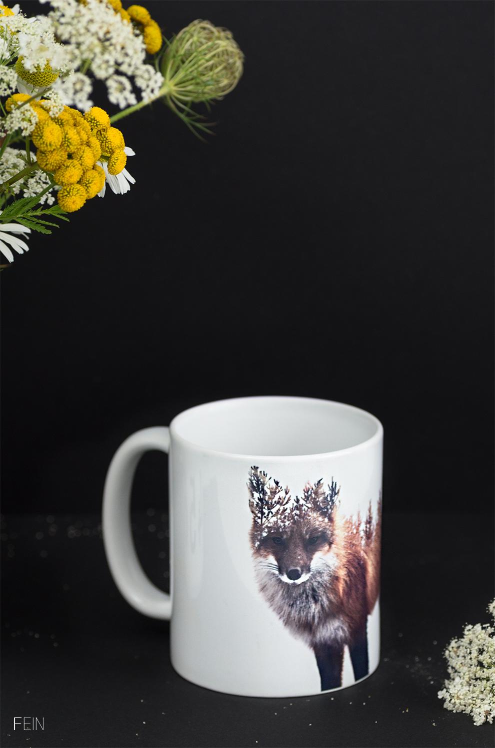 Küche Tasse Fuchs