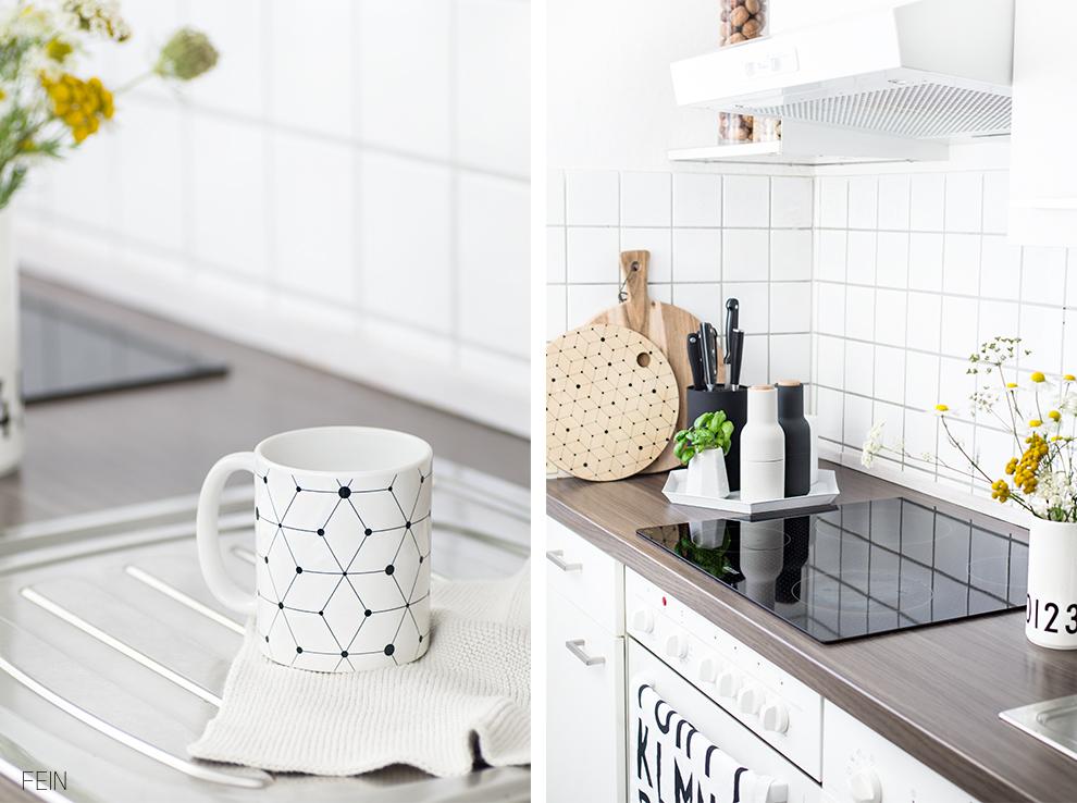 Küche weiß scandi