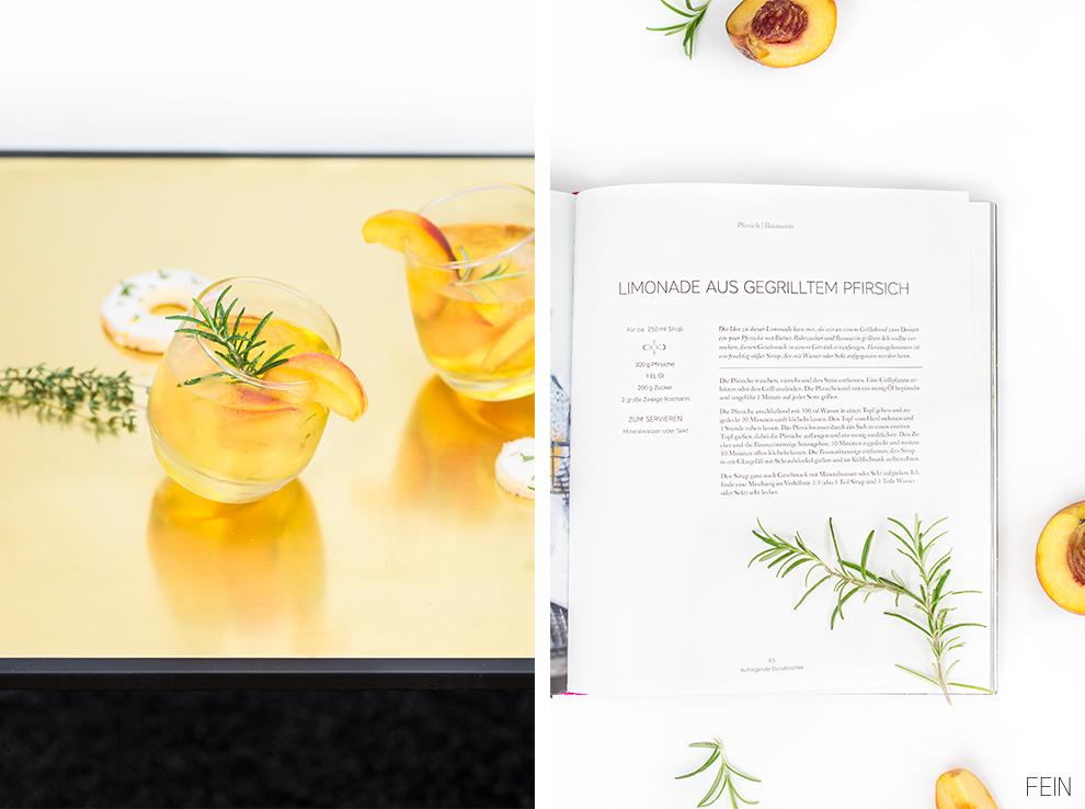 Spätsommer Pfirsich Limonade