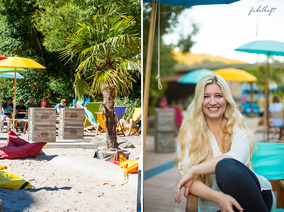 Strandbar City Beach Blond Beauty Review Sommer Sun Sonne Hair Summertime 5