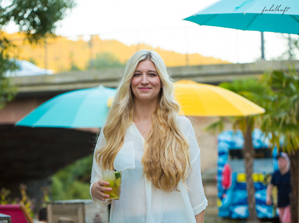 Strandbar City Beach Blond Beauty Review Sommer Sun Sonne Hair Summertime 7
