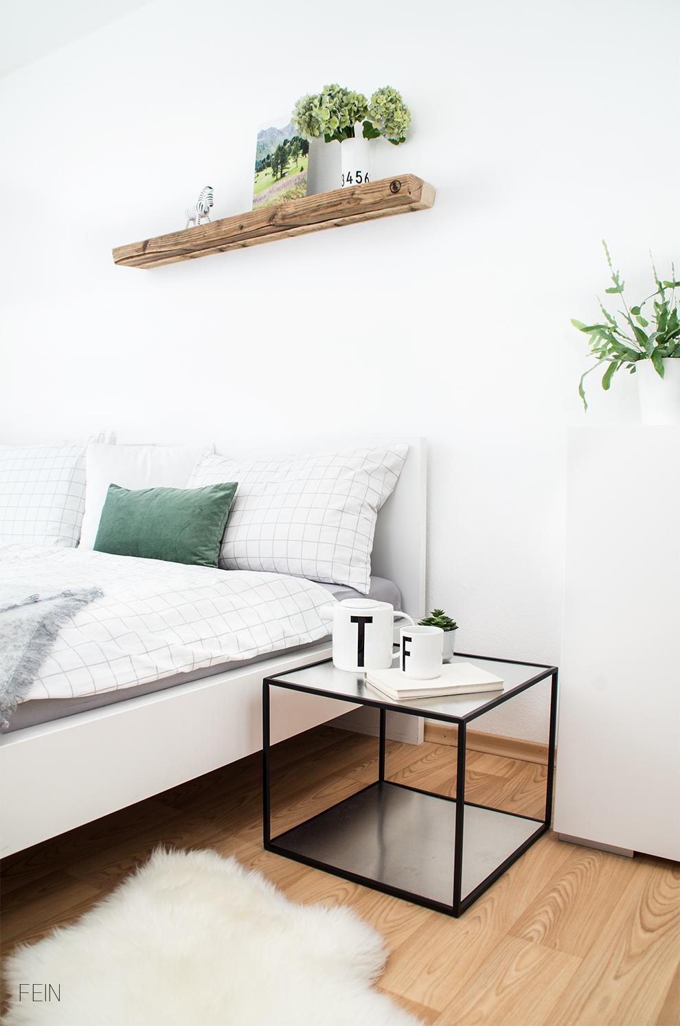 Umstyling Bett Schlafzimmer