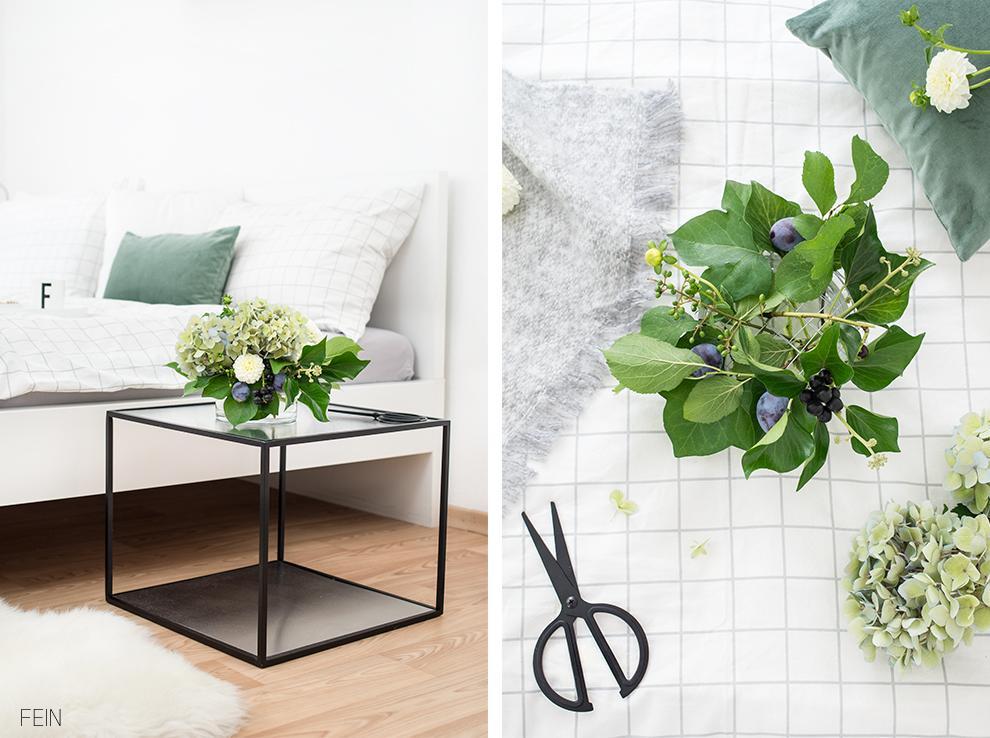 Umstyling Blumengesteck