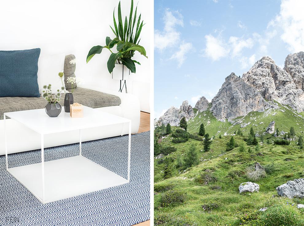 Zuhause Teppich Liv Dolomiten