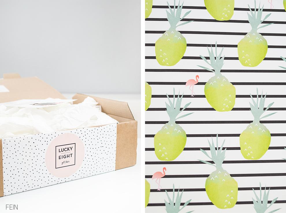 Pantone Farben 2017 Lucky eight gift box