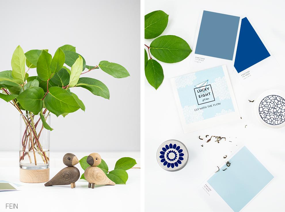 Pantone Farben 2017 und Lucky Eight Giftbox - Fein und Fabelhaft