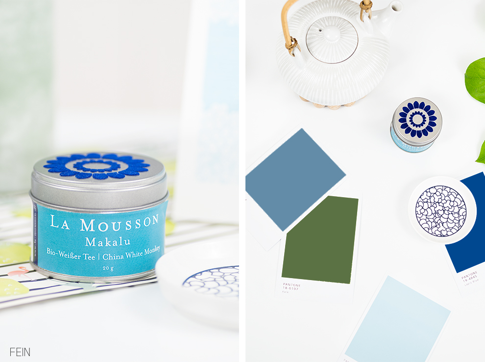 Pantone Farben Spring Summer 2017 Green blue