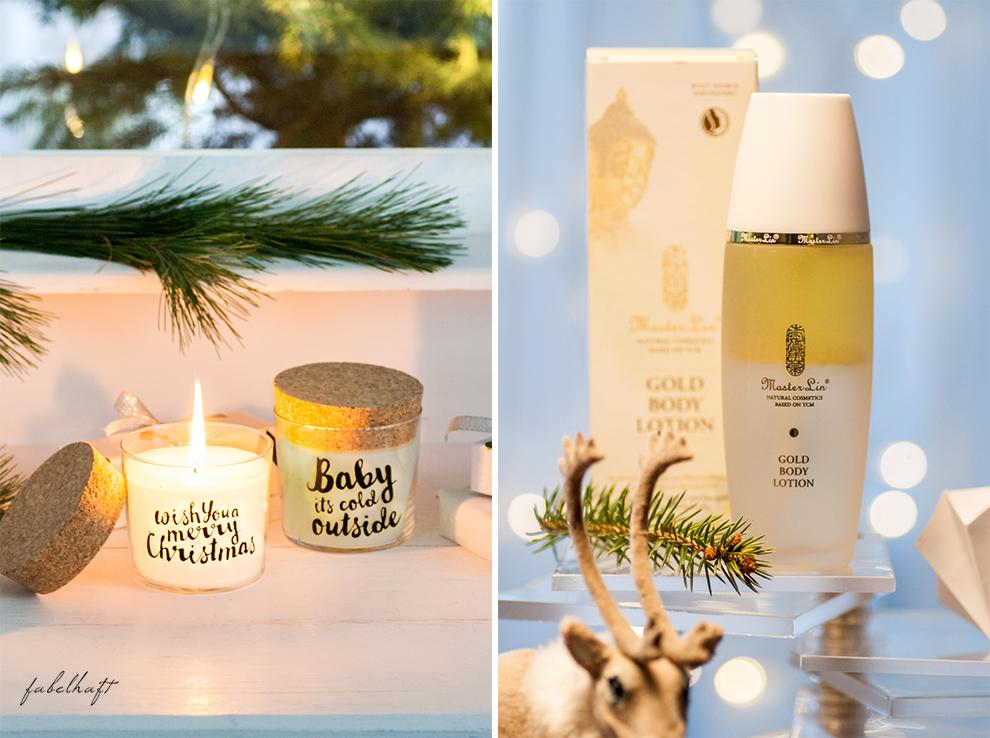 Weihnachten fein und fabelhaft Geschenke inspiration Gewinnspiel Giveaway Duftkerze feelgoodcandle najoba master lin