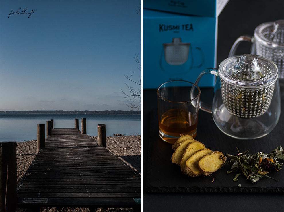 Blogger Fein uns fabelhaft jahresrückblick chiemsee silvester winter urlaub reisebericht kusmi tee kulinarisch fashion beauty