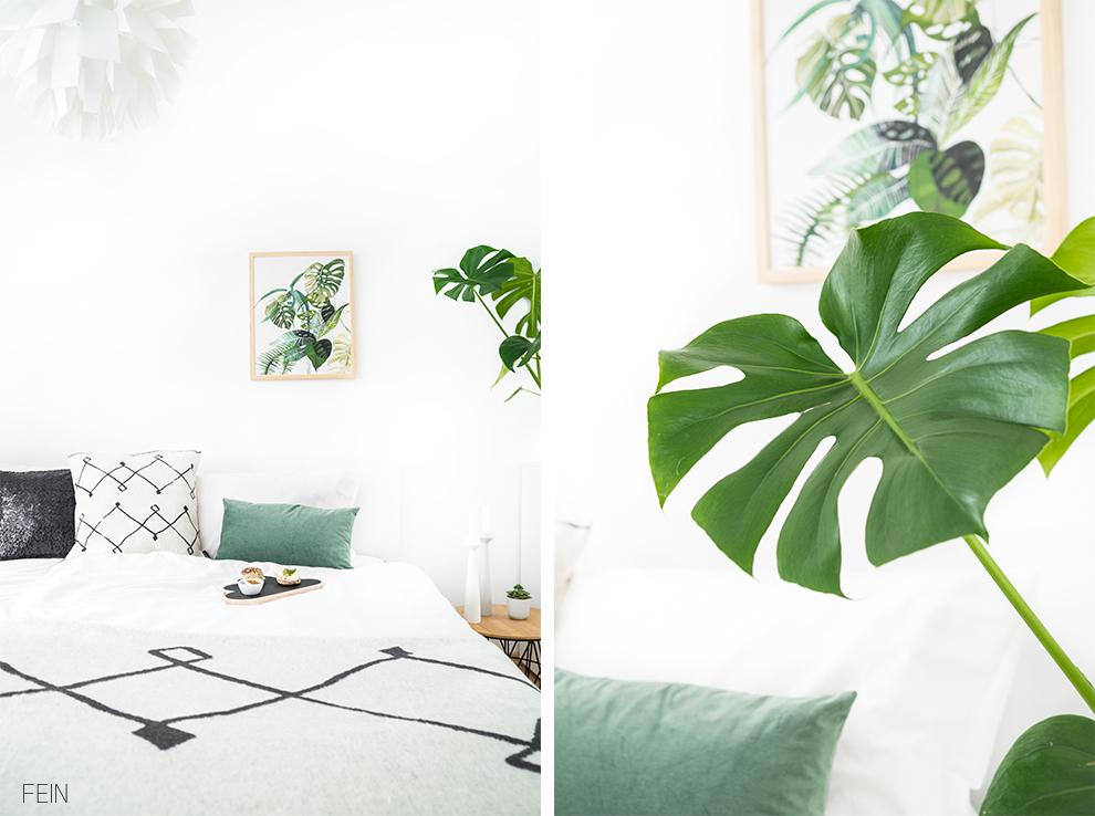 fabelhaft grunpflanzen im schlafzimmer gestaltung. Black Bedroom Furniture Sets. Home Design Ideas