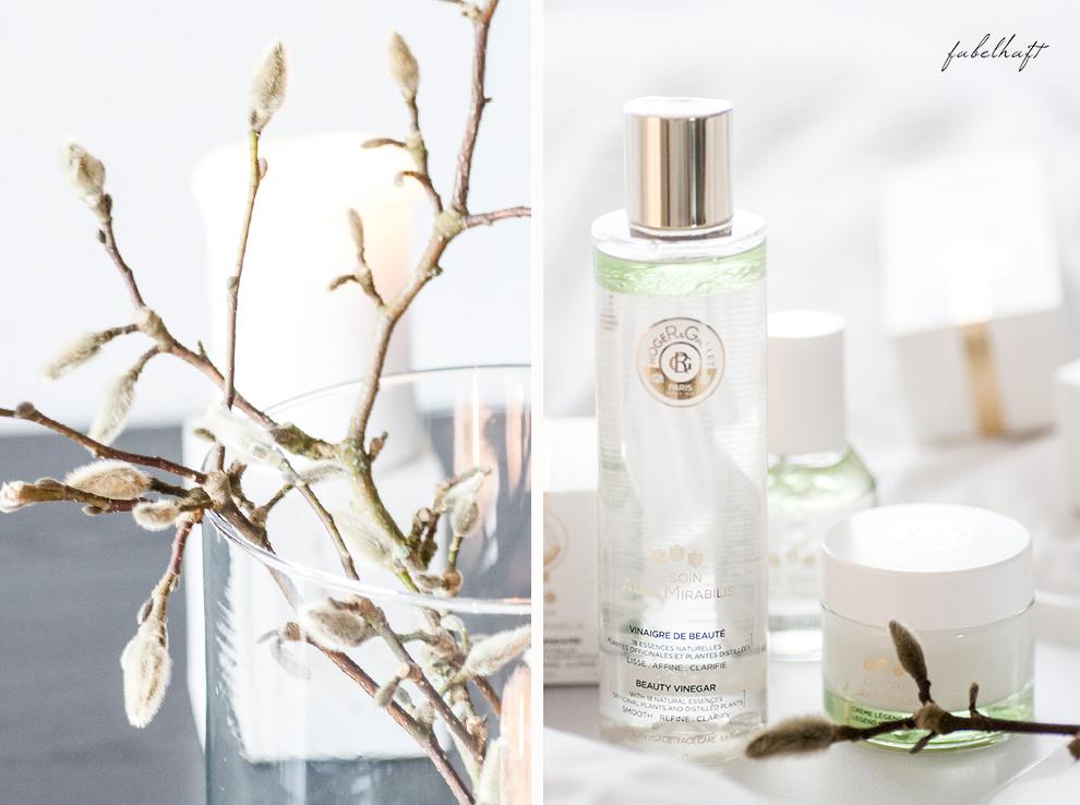 Flaconi Roger Gallet Skincare Hautpflege Winter Blogger Fein und Fabelhaft Interior Schlicht elegant Weiß Home Beauty 11 Aura Mirabilis