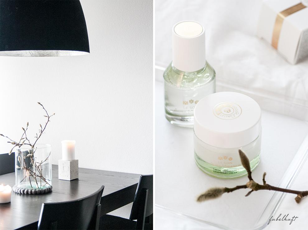 Flaconi Roger Gallet Skincare Hautpflege Winter Blogger Fein und Fabelhaft Interior Schlicht elegant Weiß Home Beauty 4 Aura Mirabilis
