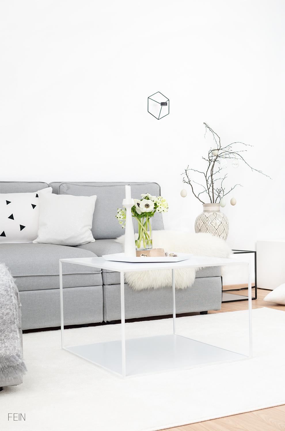 Osterideen Frühling Wohnzimmer
