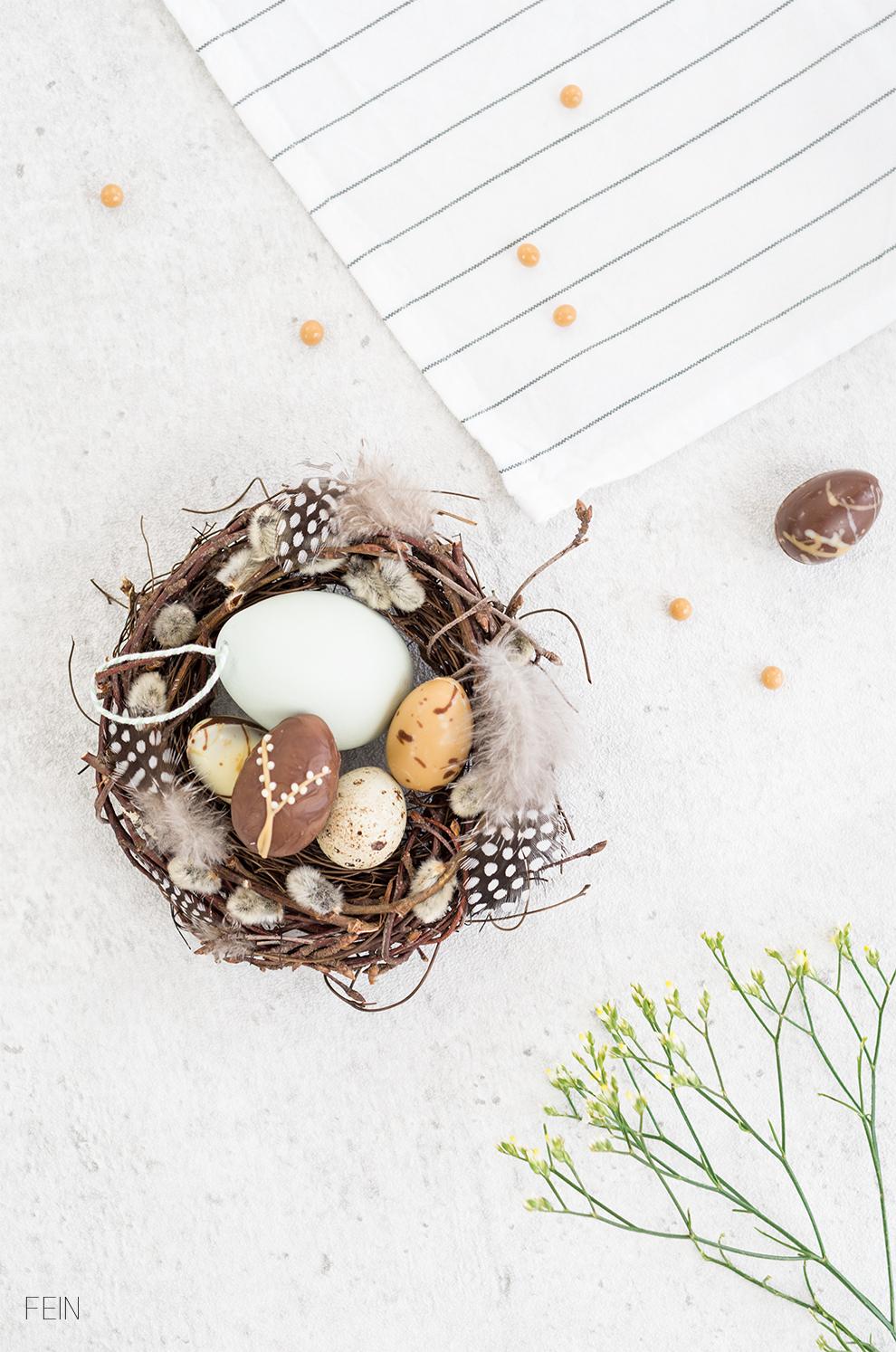 Sweet Table Osterkörbchen