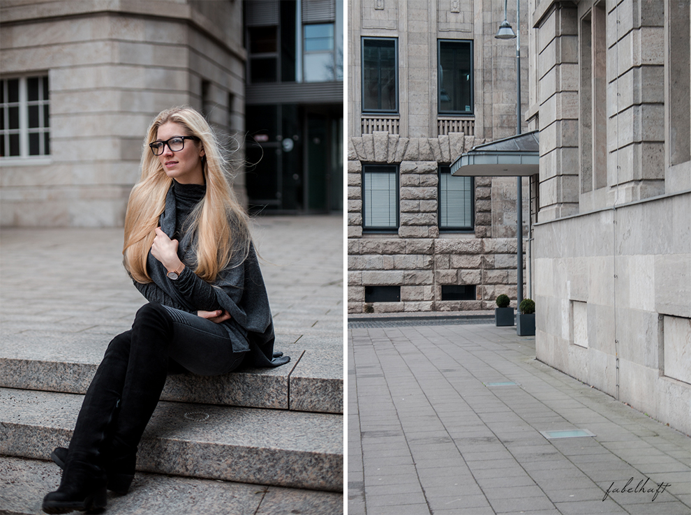 Zwillingherz Kaschmir Mode Trend Poncho Cashmere Fein und Fabelhaft Fashion Köln City Lifestyle Stadtleben Blond Blogger 10