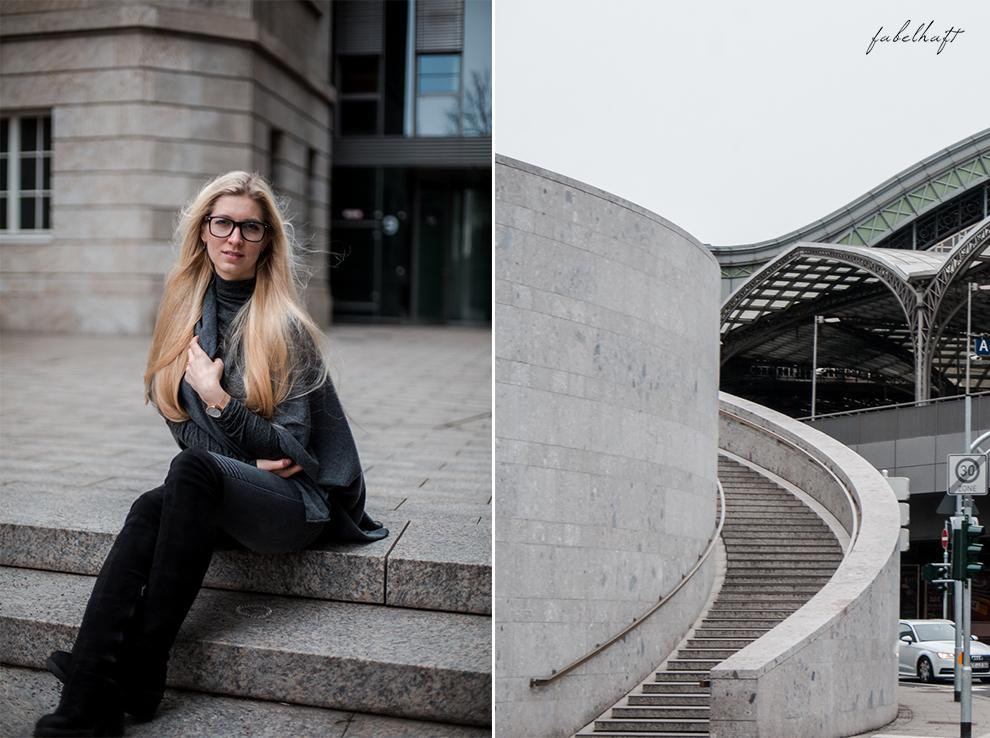 Zwillingherz Kaschmir Mode Trend Poncho Cashmere Fein und Fabelhaft Fashion Köln City Lifestyle Stadtleben Blond Blogger 2