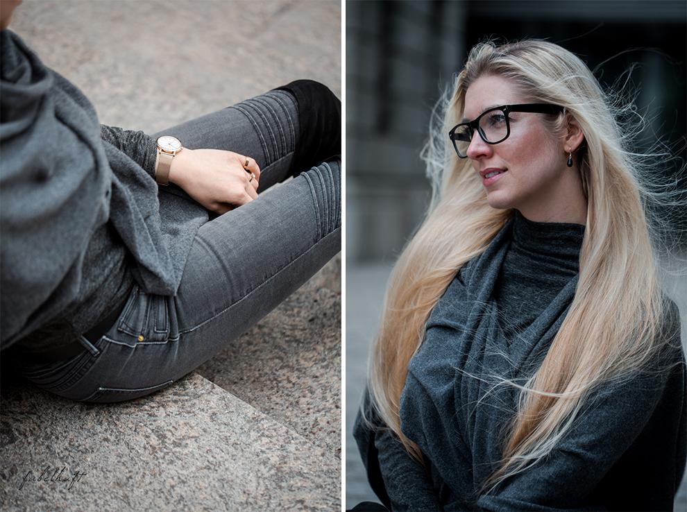 Zwillingherz Kaschmir Mode Trend Poncho Cashmere Fein und Fabelhaft Fashion Köln City Lifestyle Stadtleben Blond Blogger 4