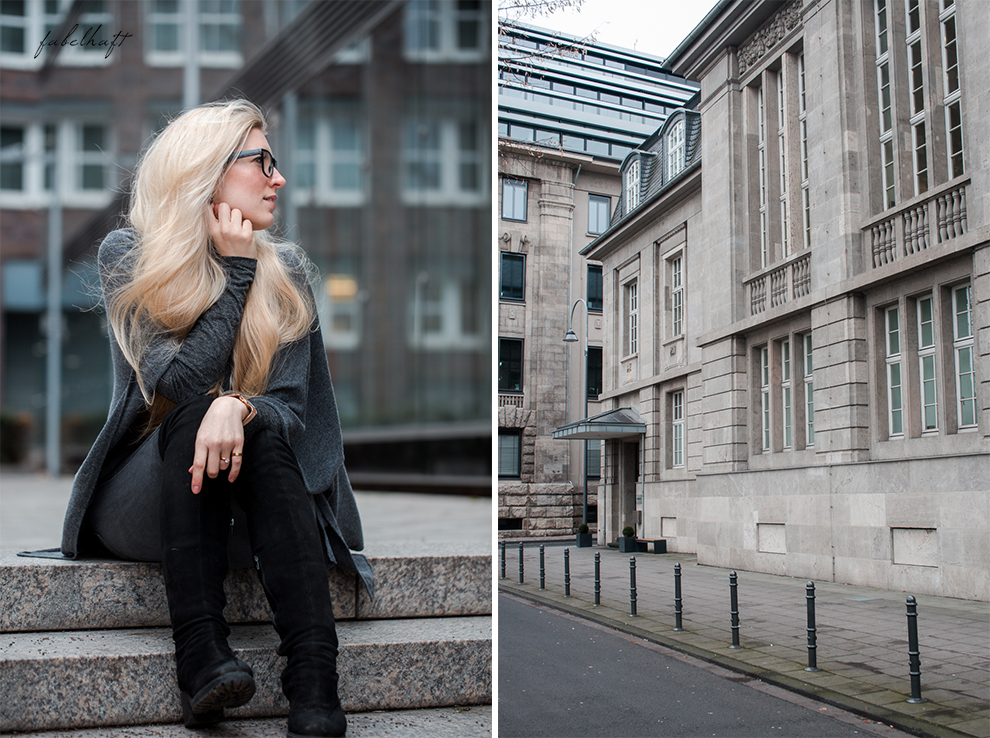 Zwillingherz Kaschmir Mode Trend Poncho Cashmere Fein und Fabelhaft Fashion Köln City Lifestyle Stadtleben Blond Blogger 6