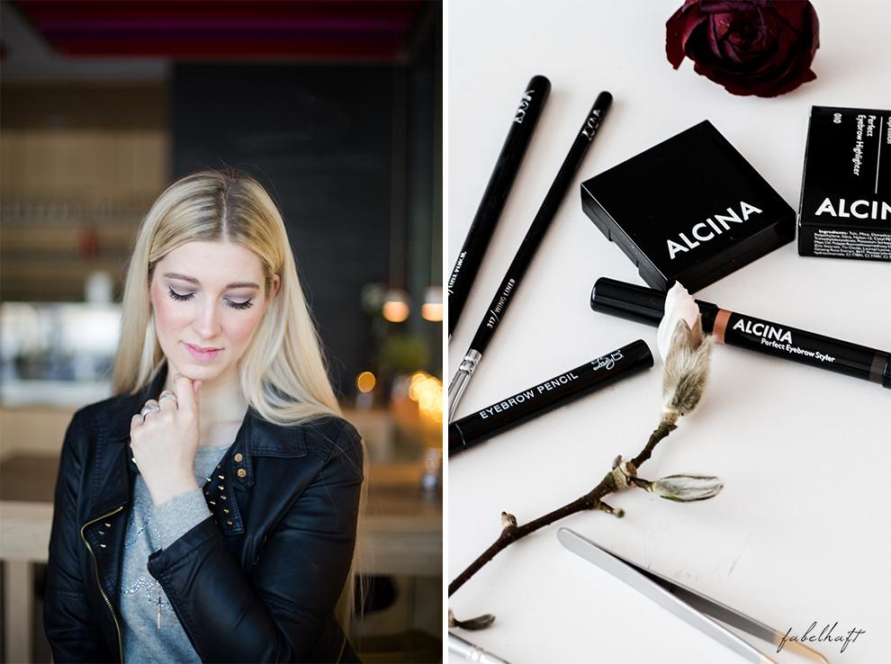 Basler Augenbrauen Eyebrow Tutorial Styling Beauty Alcina Form Farbe Blond Haar Blogger Brunch Lifestyle
