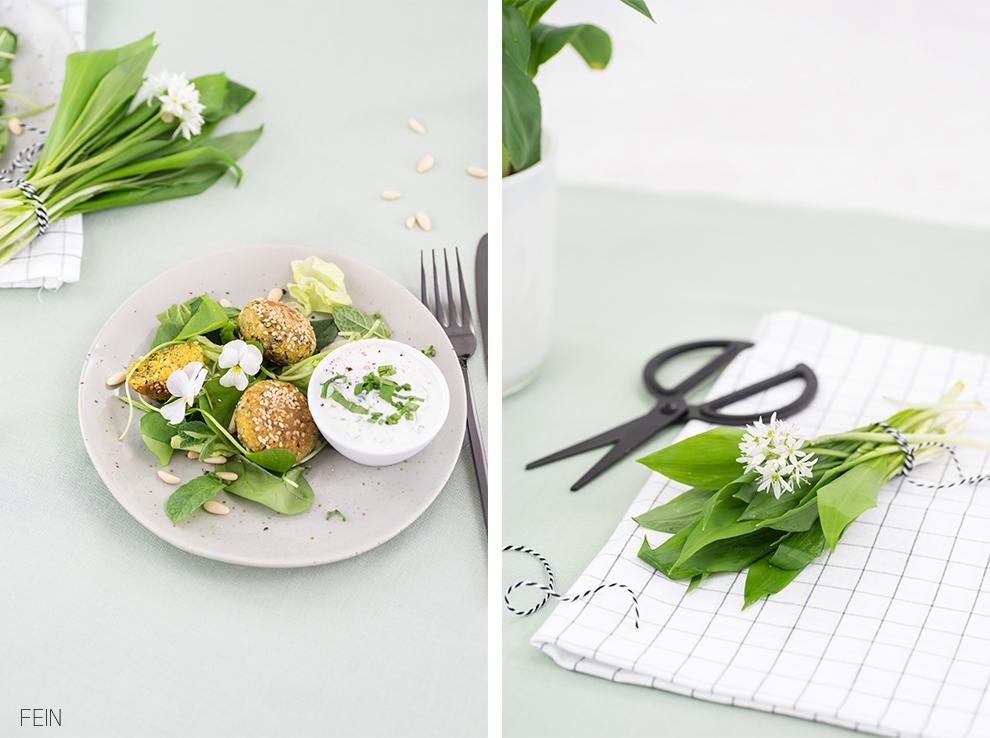 Falafel Bärlauch Dip