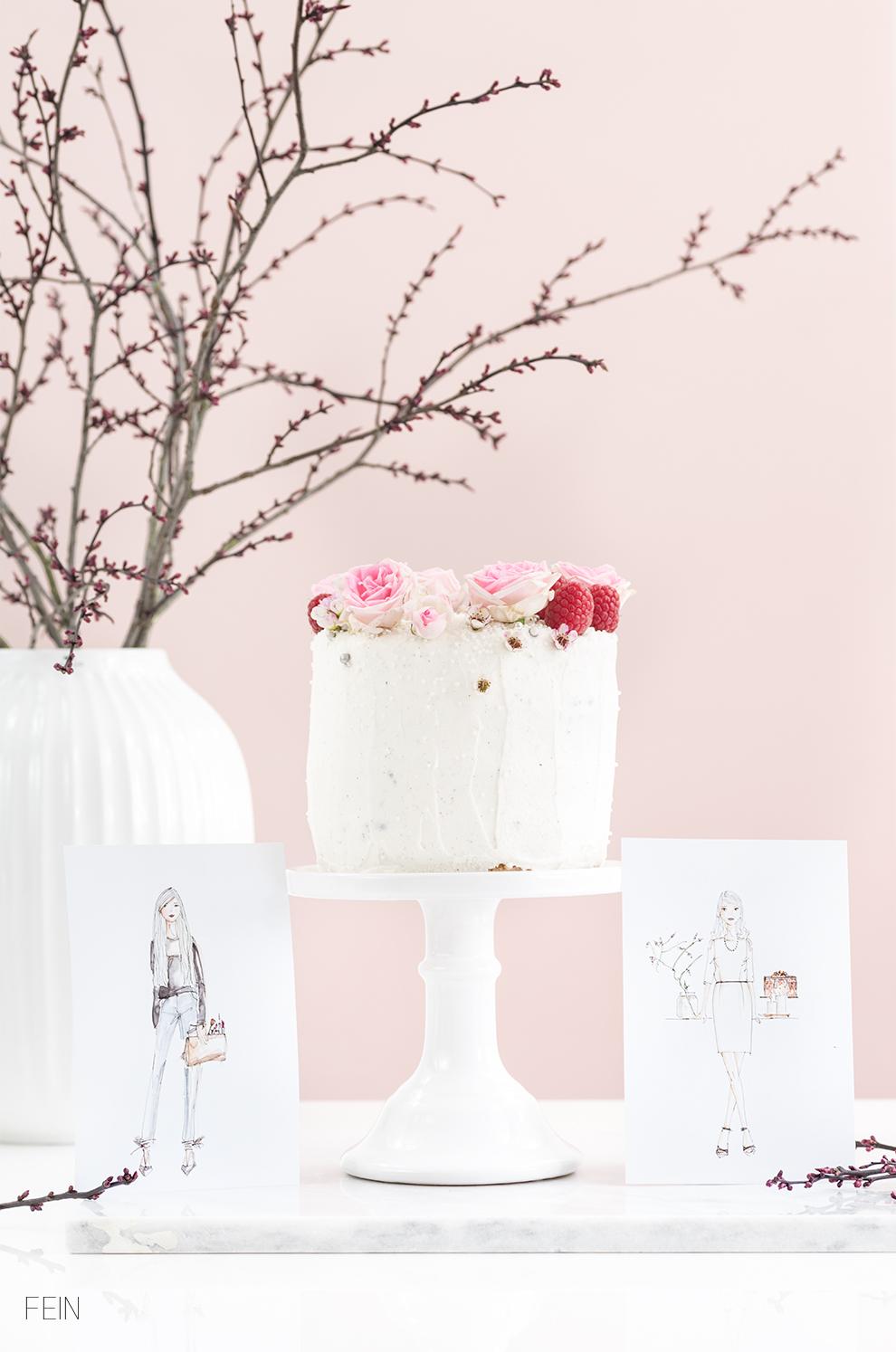 Geburtstag Blondie Cake