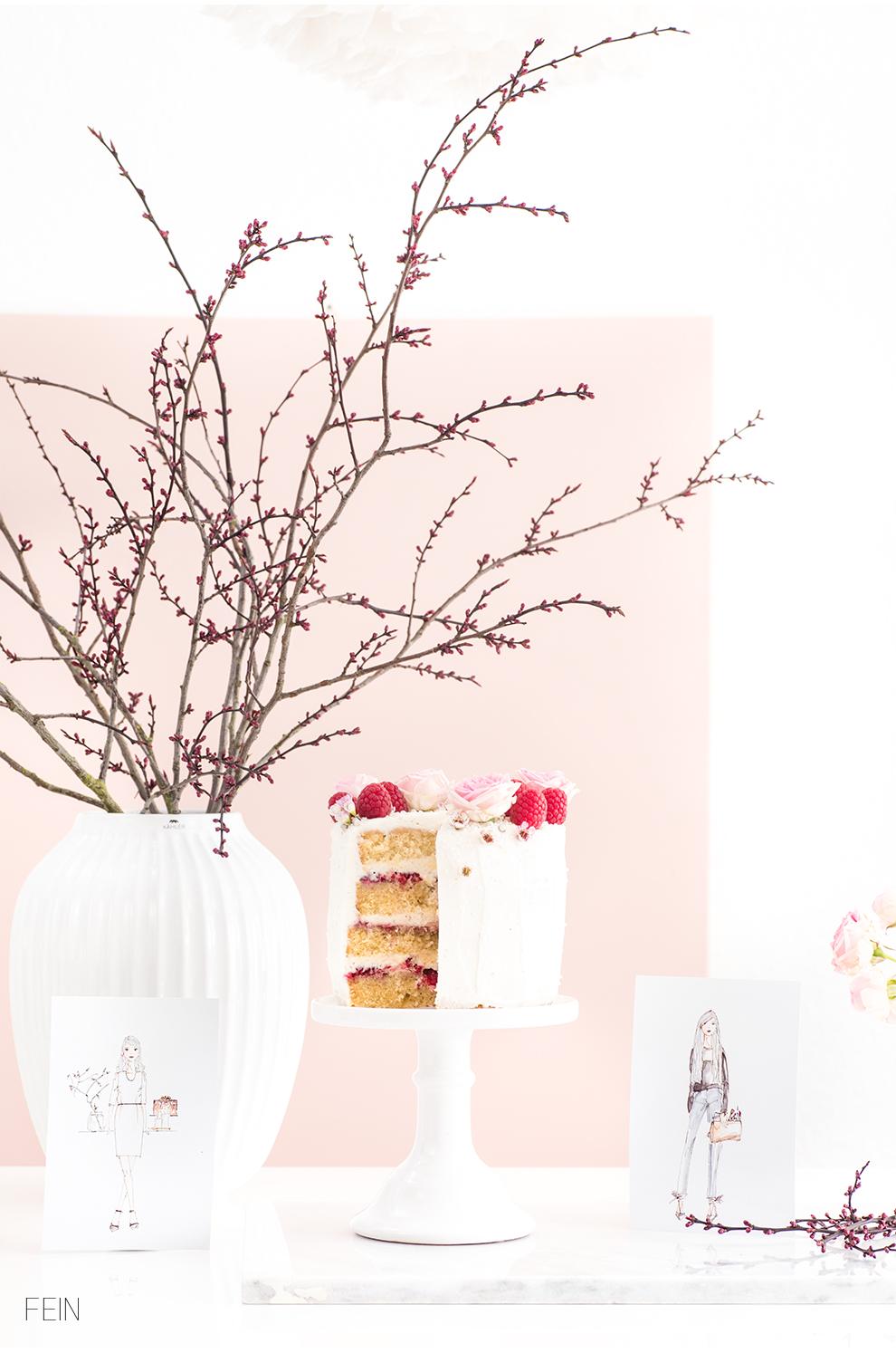 Geburtstag Torte Rezept Frühling
