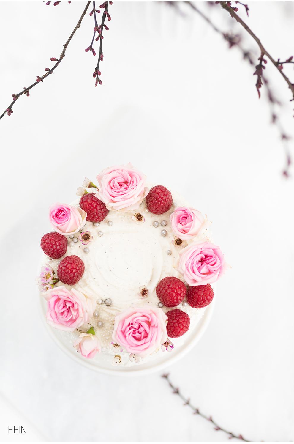 Geburtstag Torten Dekoration Blüten