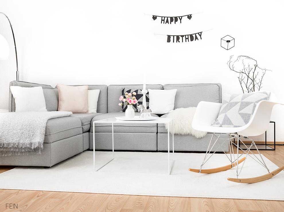 Geburtstag Wohnzimmer Dekoration