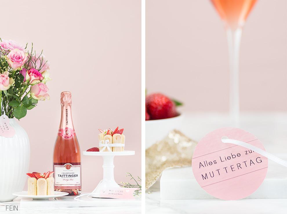 Muttertag Geschenke Champagner