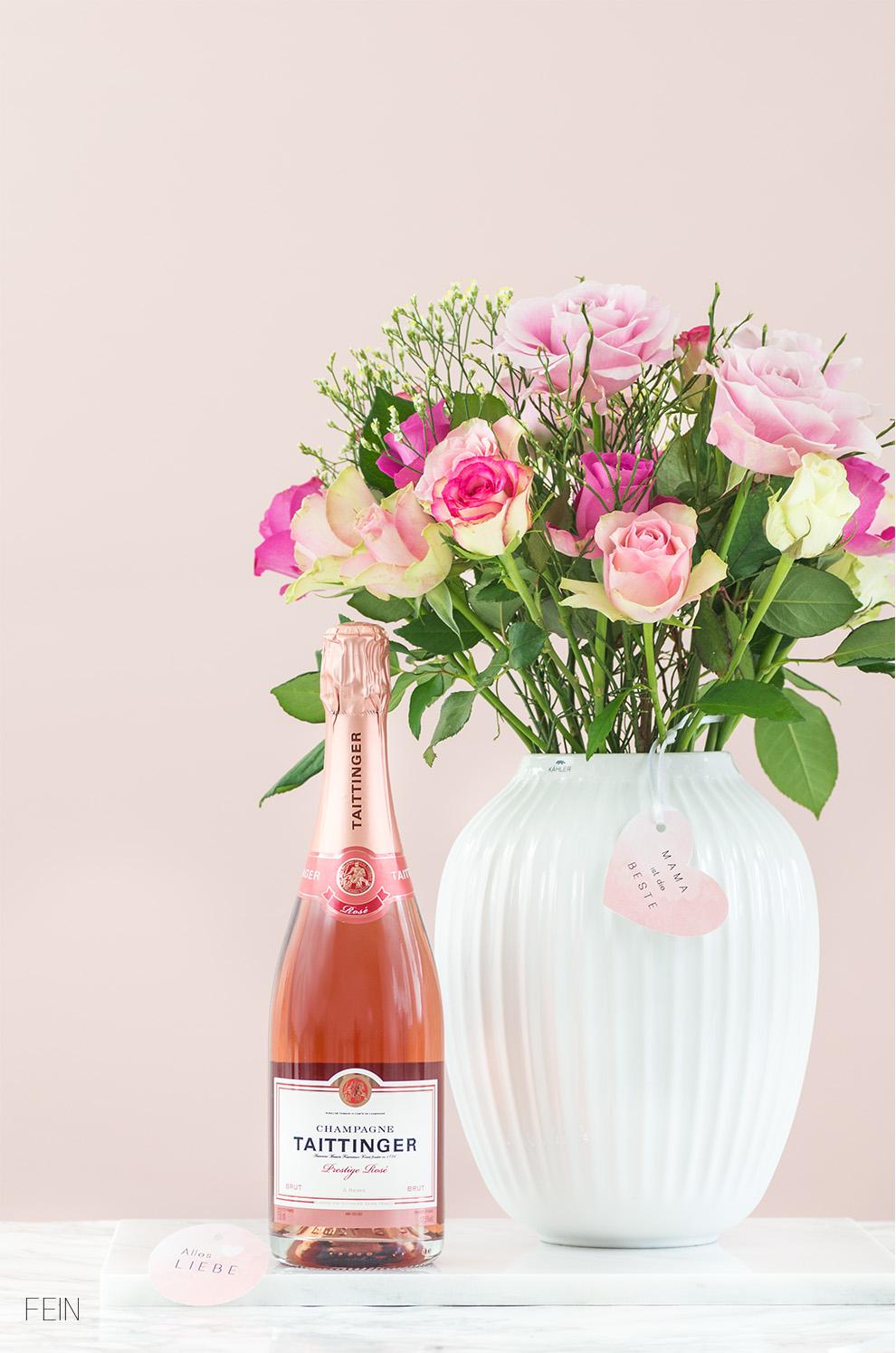 Muttertag Taittinger Champagner