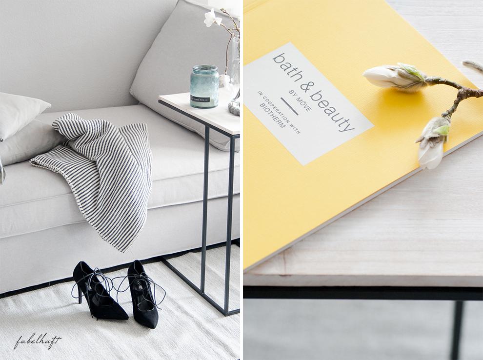 Recarmiere Fein und Fabelhaft Blog Lounge Interior Trend Europa Apotheek Möve Grau Frühling 3