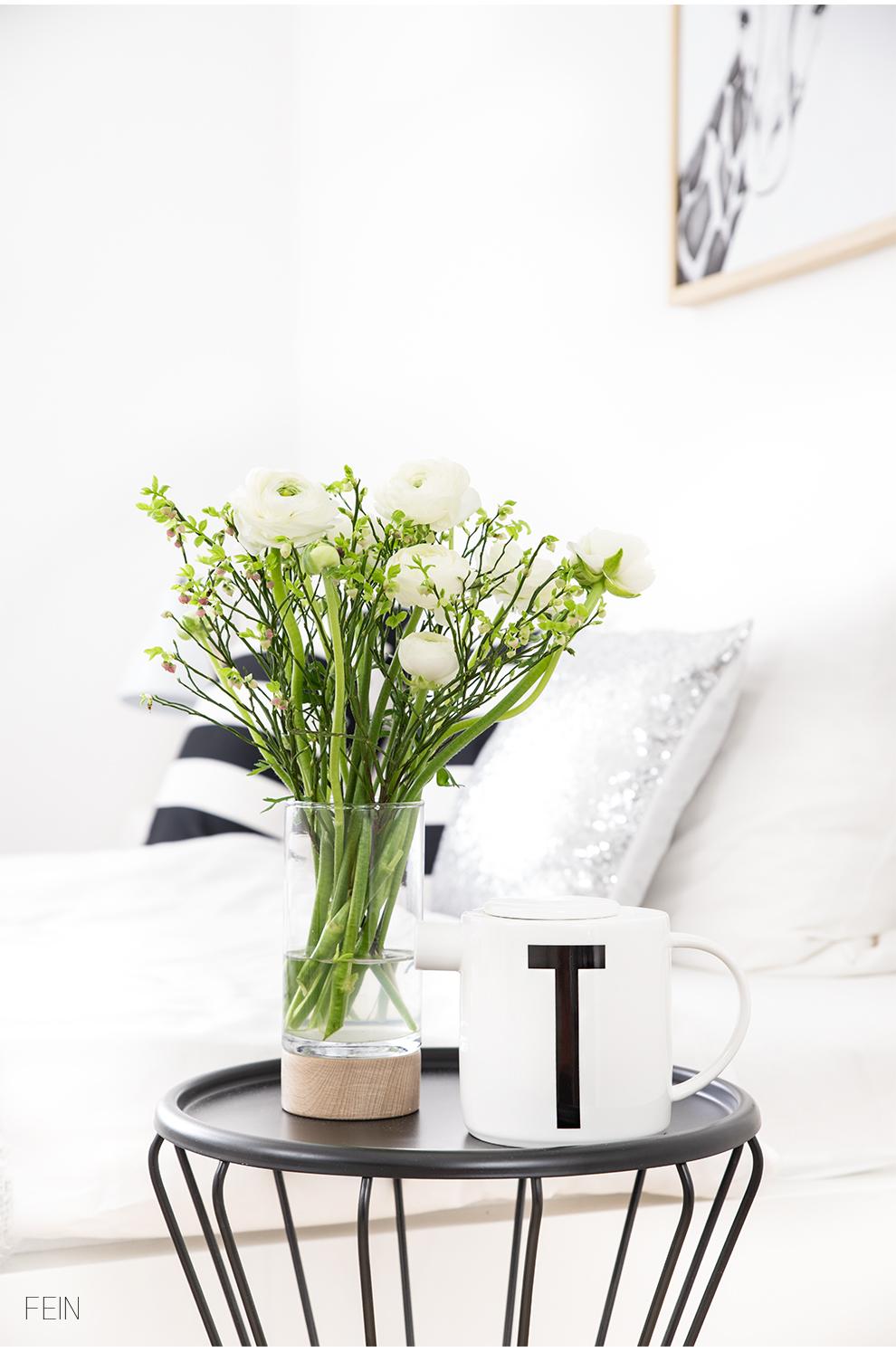 Schlafqualität Blumen