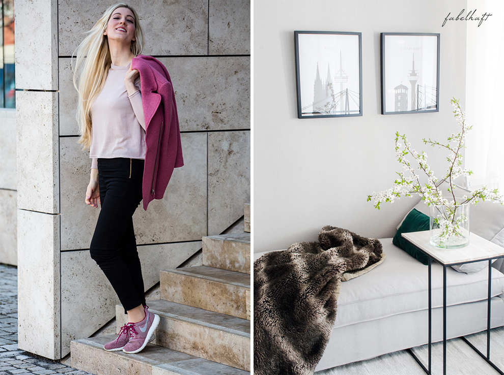 Basler Arganöl Shampooo Haarpflege Haircare Ostern Outfit Frühling Rosa Stiefeletten High trashed Trend 3