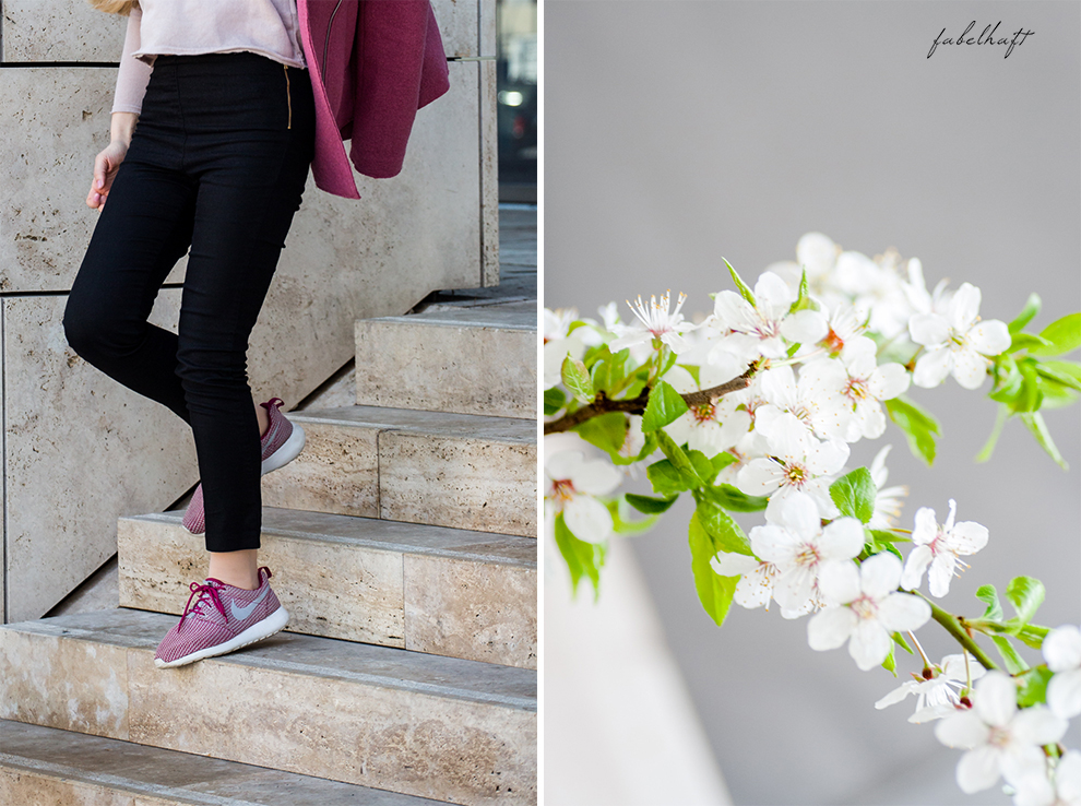 Basler Arganöl Shampooo Haarpflege Haircare Ostern Outfit Frühling Rosa Stiefeletten High trashed Trend 6